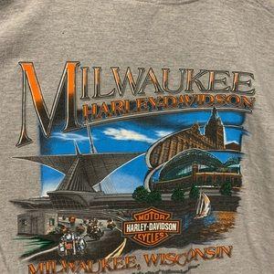 Harley-Davidson Shirts - Harley Davidson 105th Anniversary Biker T-Shirt